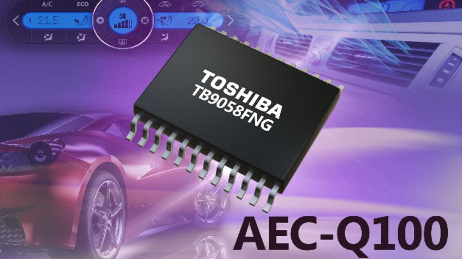 Der IC TB9058FNG von Toshiba ist für Anwendungen im Automotive-Bereich konzipiert. Erste Muster können bestellt werden.