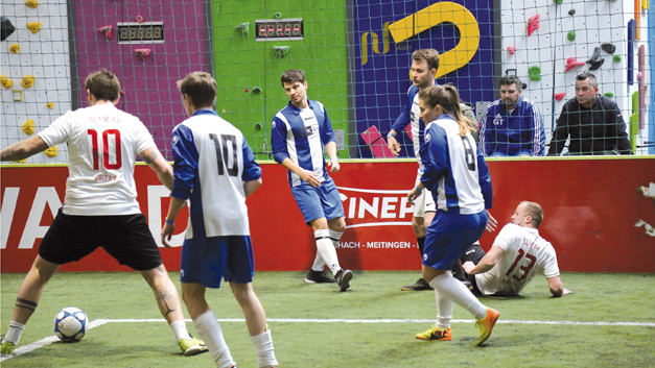 Spaß hatten alle Beteiligten  beim 1. Soccer Cup von BMK.