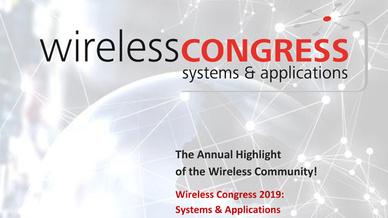 16. Wireless Congress am 22.-23. Oktober 2019 in München.