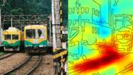 Die Heatmap zeigt ganz deutlich: Der Algorithmus trifft die Entscheidung Zug oder nicht Zug anhand der Schienen-Bildpunkte und nicht anhand derer, die den Zug ausmachen.