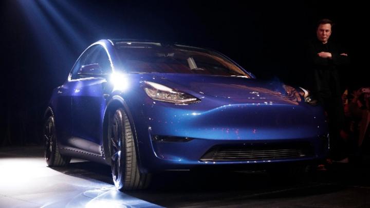 Neuer Hoffnungsträger: Das Model Y soll voraussichtlich im Herbst 2020 auf die Straße kommen, kündigte Tesla-Chef Elon Musk an.