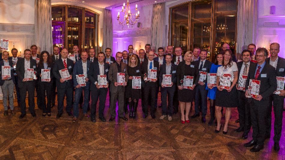 So sehen Sieger aus: Die Preisträger der Elektronik-Leserwahl »Produkte des Jahres 2019«.