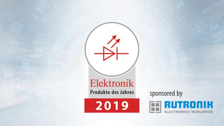 Rubrik »Optoelektronik«, Produkte des Jahres 2019 der Elektronik.