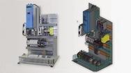 Montageplatte und ihr digitaler Zwilling
