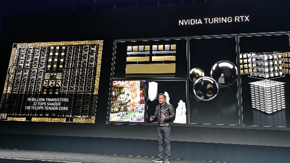 Der Turing RTX ist mit 18 Mrd. Transistoren einer der komplexesten Chips der Welt.