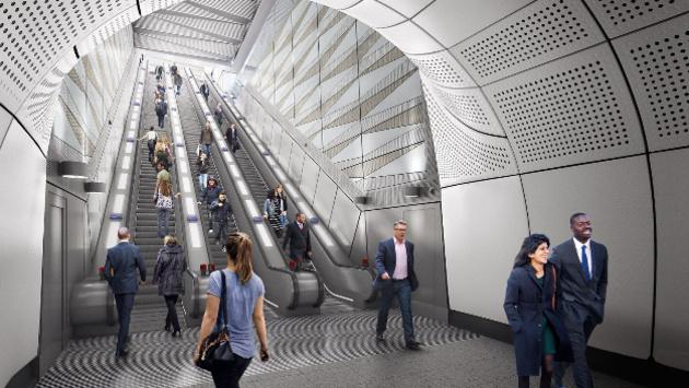 Referenzbericht Tridonic LED-Beleuchtungskonzept für Crossrail