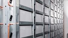 Solarwatt-Batterie-Großspeicher 1,5 Megawatt in Li-Ionen-Technologie