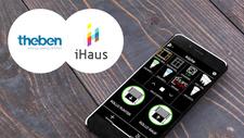 Smart-Home-System iHaus integriert LUXORliving von Theben