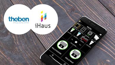 Eine bestehende Theben-LUXORliving-Konfiguration kann einfach in die iHaus-App importiert werden.