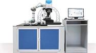 Bruker Alicona aus Raaba/Graz (Österreich) stellt eine Automatisierungslösung zur Messung, Bestückung und IO-/NIO-Sortierung von Bauteilen vor. Die Technologie kombiniert das optische 3D-Oberflächenmessgerät »InfiniteFocusSL« mit einem kollaborativen