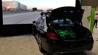 Autopilot-Simulator mit Ende-zu-Ende Valdierung mit Hardware und Fahrzeug in-the-Loop.