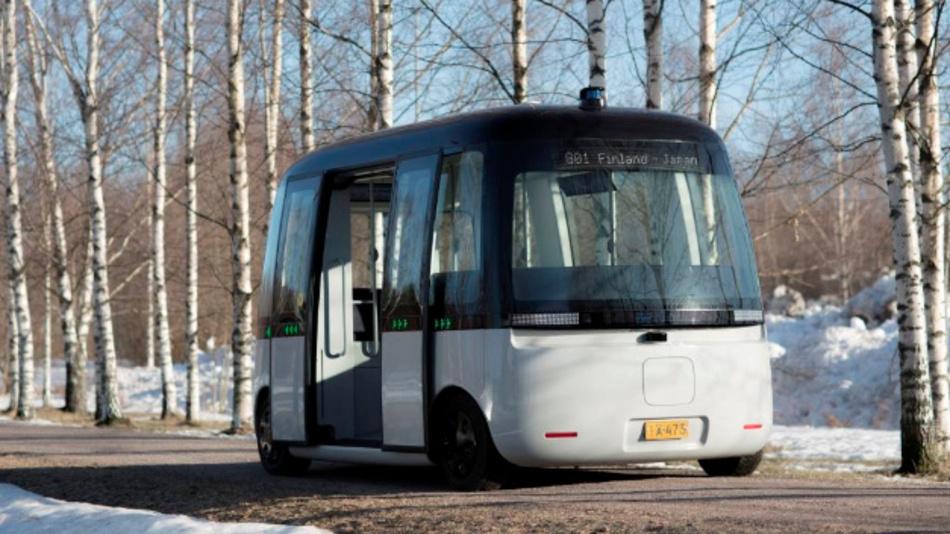 Das selbstfahrende E-Shuttle Gacha wird im April in der finnischen Stadt Espoo den Probebetrieb aufnehmen.