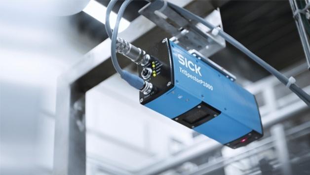 3D-Kamera TriSpectorP1000 von Sick
