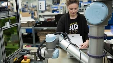 Kalloborierende Roboterarme, Universal Robots