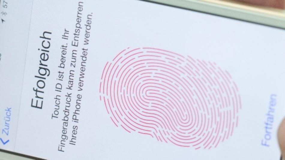 Biometrie, Fingerabdrucksensoren