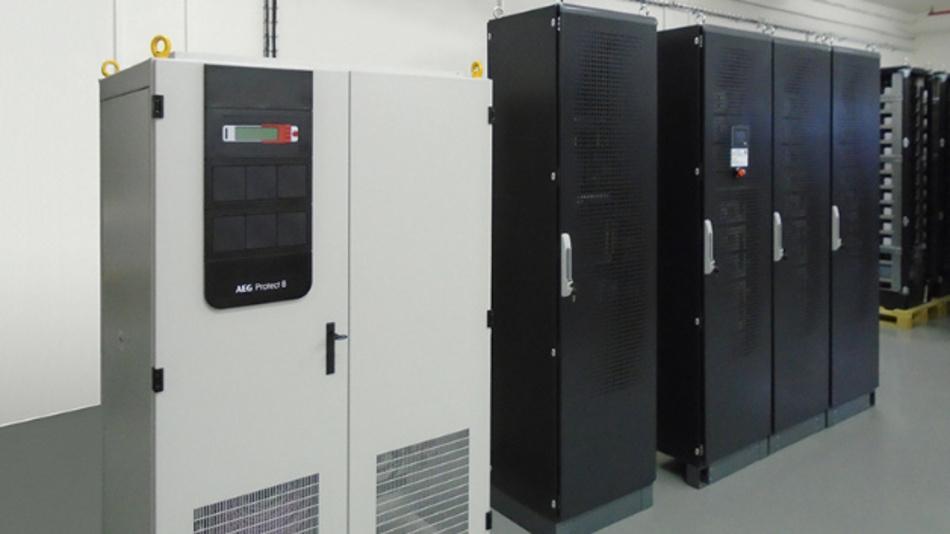 Die USV Protect 8 mit Flex'ion Lithium-Ionen-Batterien für den industriellen Einsatz bei Dow Chemical.