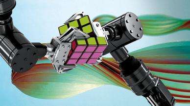 Rubik Würfel, Roboter