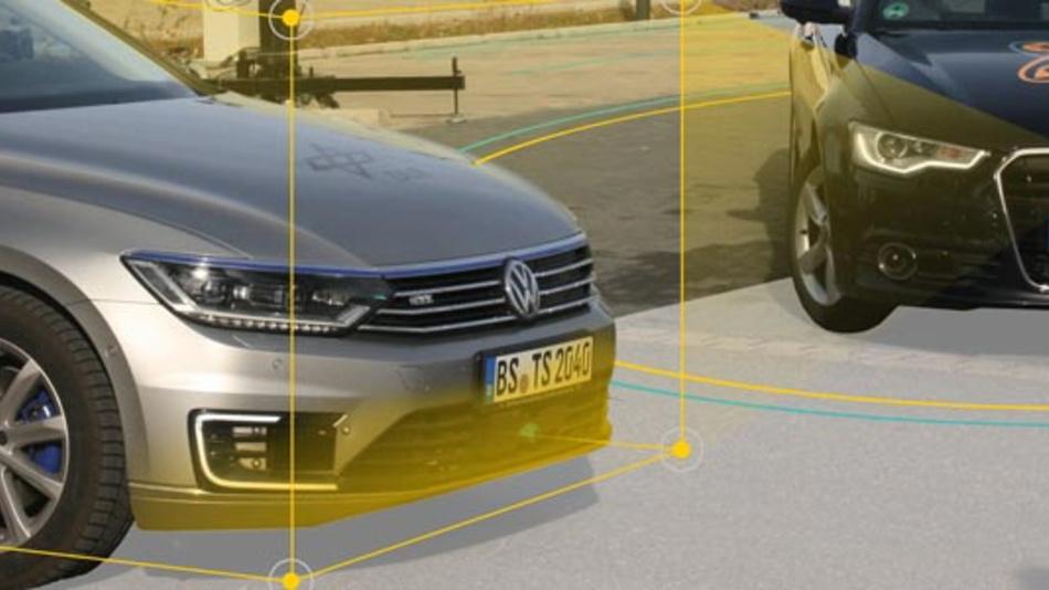 360-Grad-Scanning, dynamische Objekterkennung, Freiraumerkennung – so sieht die offenen Fusionsplattform die Umgebung.