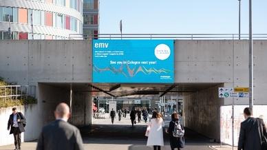 """In allen """"geraden"""" Jahren wird die »EMV« künftig in Köln ausgetragen."""
