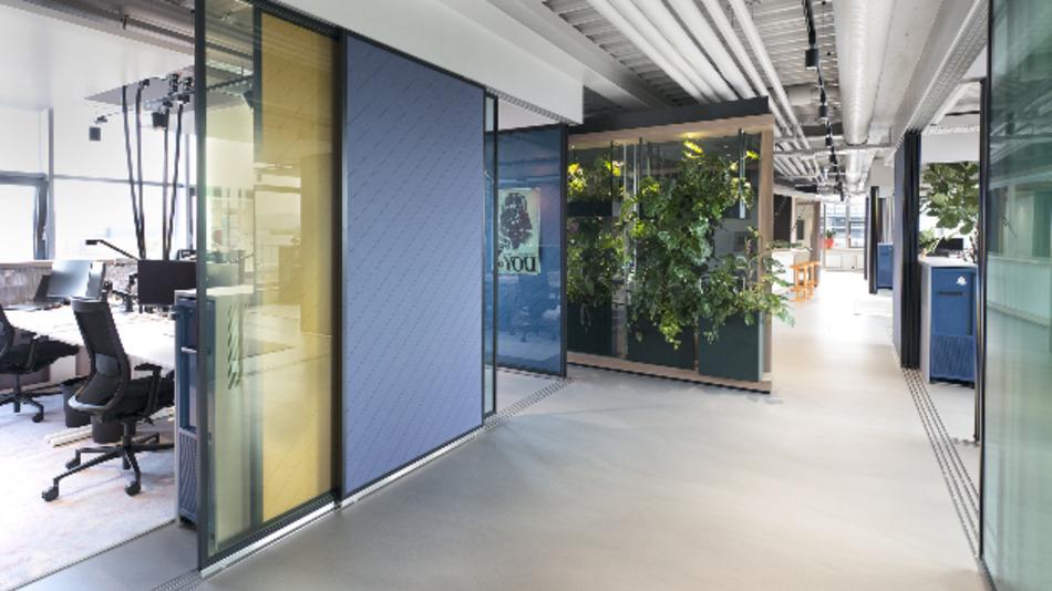 Am Stuttgarter Standort testet Vector neue Arbeitsplatzkonzepte