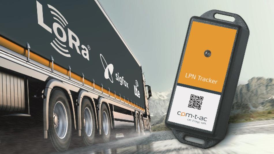Die Asset-Tracking-Lösungen von comtac beruhen auf Mobilfunktechniken wie LTE oder auf LPWAN-Techniken wie LoRa und Sigfox.