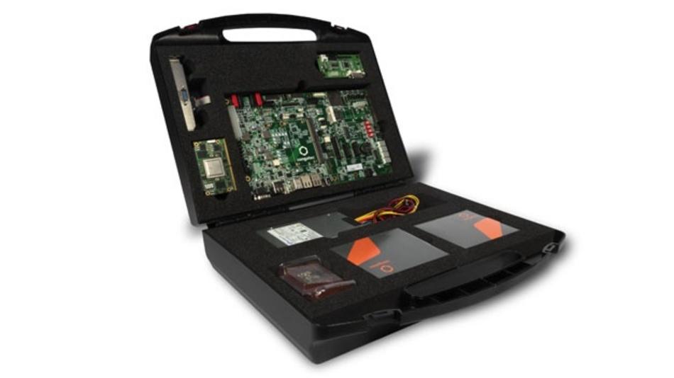 SMARC-2.0-Starter-Kit von congatec für die i.MX-8-Familie.
