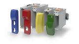 Die Deckel der ICS-Elektronikgehäuse von Phoenix Contact lassen sich in den unterschiedlichsten Farben und Formen gestalten.