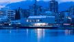 Außenansicht der Polygon Gallery am Hafen von Vancouver