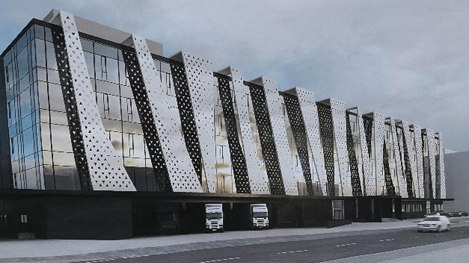 Den Grundstein für das neue Gebäude hat das Unternehmen jetzt gelegt, 2020 soll die erste Produktionseinheit vom alten Gelände über die Rötelstraße in den Neubau umziehen. 2023 wird der zweite Bauabschnitt abgeschlossen sein.