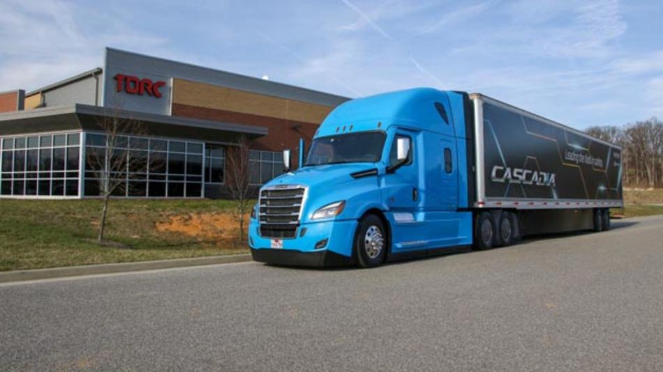 Daimler Trucks erwirbt Mehrheitsanteil von Torc Robotics und arbeitet somit verstärkt an automatisierten Lkws.