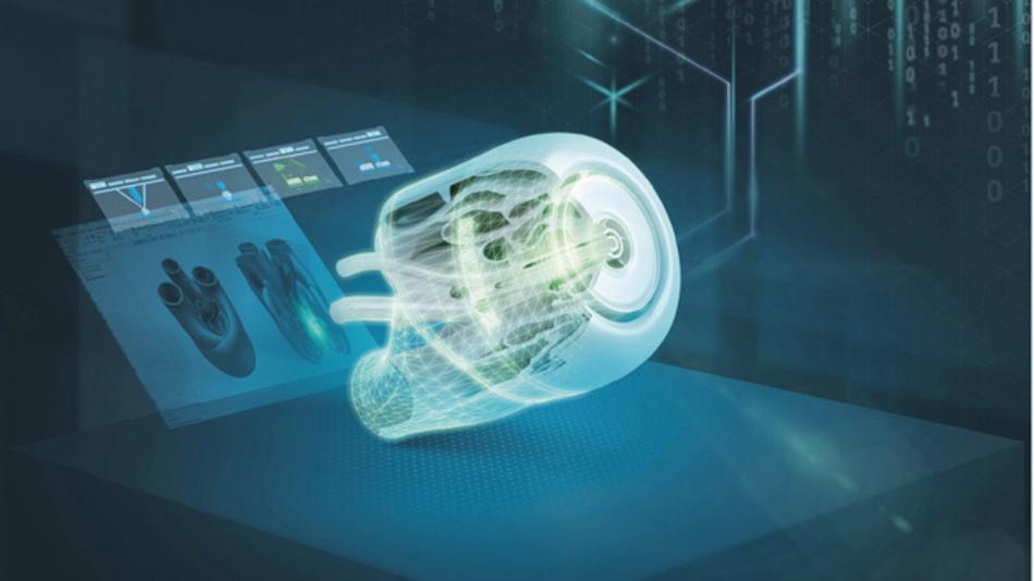 """Das Siemens-Digital-Enterprise-Portfolio mit seinen integrierten Lösungen für die addditive Fertigung wird auf der formnext 2018 unter dem Motto """"Industrialize Additive Manufacturing"""" vorgestellt."""