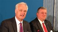 Carl Martin Welcker und Thilo Brodtmann auf der Hannover Messe 2019