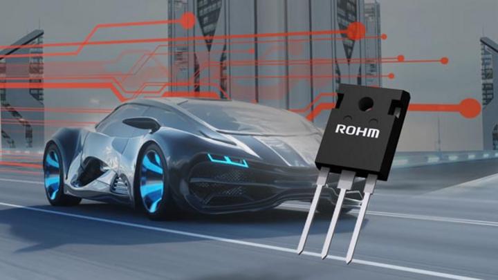 Rohm hat sein Portfolio an SiC-MOSFETs um die Serie SCT3xxxxxxxHR für Automobilanwendungen ergänzt.