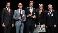 Gratulanten und Preisträger des Hermes Award 2019