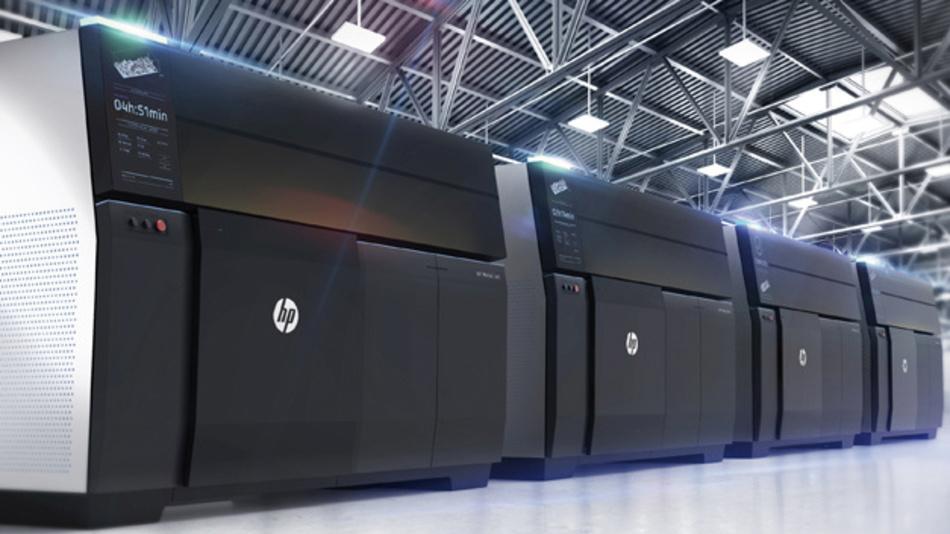 Für 3D-Druck mit metallischen Substanzen: der HP Metal Jet