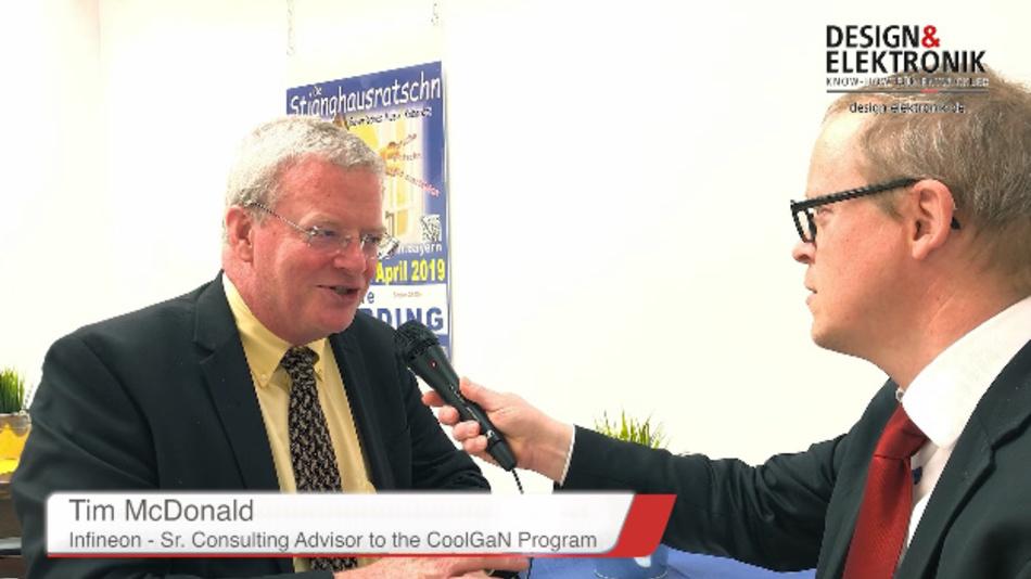 Unser Redakteur Ralf Higgelke traf sich mit Tim McDonald, Senior Consulting Advisor für das CoolGaN-Programm bei Infineon und Co-Vorsitzender des JEDEC-Komitees JC-70, das sich um die Standardisierung von Wide-Bandgap-Leistungshalbleitern kümmert.
