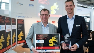 Gewinner des Robotics Award 2019