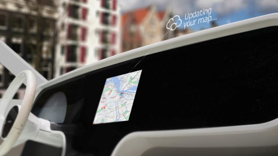 TomToms intelligenter Navigationsdienst »IQ Maps« kommt über den indischen Automobilhersteller MG India in Serienfahrzeuge.