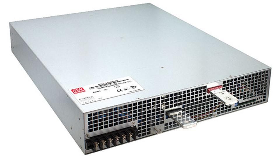 Bild 1. Das Netzteil RST-100000 – die 10-kW-Stand-alone-Lösung von Mean Well.