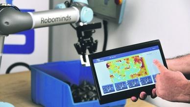 3D-Stereovisionkamera von Robominds
