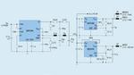 Schaltung mit den drei 2,5-V-Versorgungspegeln eines traditionellen Systems mit Schaltreglern und LDOs für den AD9625.