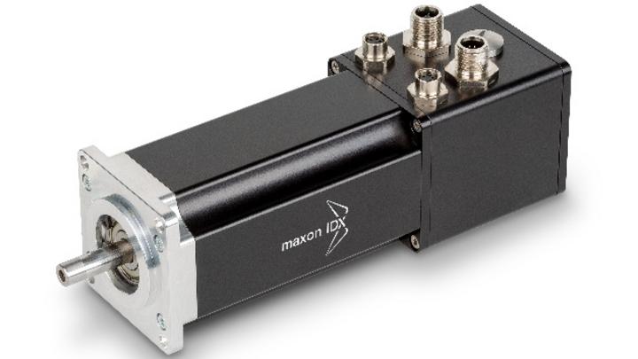 Das Antriebssystem der IDX-Linie besteht aus dem Motor und einer integrierten EPOS4-Elektronik.