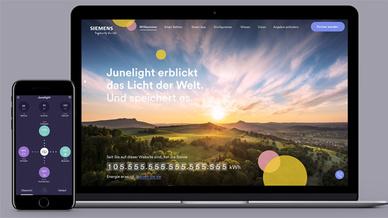 Das »Junelight«-PV-Energiespeicher/-Batteriekonzept arbeitet mit vorausschauenden Wetter- und Verbrauchsprognosen und optimiert so den Photovoltaik-Eigenverbrauch.