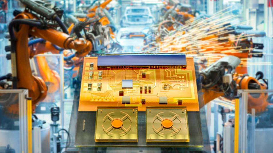 Mini-Transponder des Fraunhofer IZM ermöglicht eine genaue Ortsbestimmung.