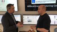 Prof. Volker Banholzer mit Daniel Fiene