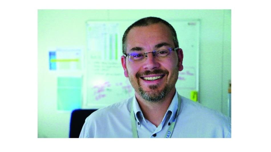 Thomas Pichot leitet die Forschung und Entwicklung für den Bereich Luft- und Raumfahrt bei Soriau Esterline.