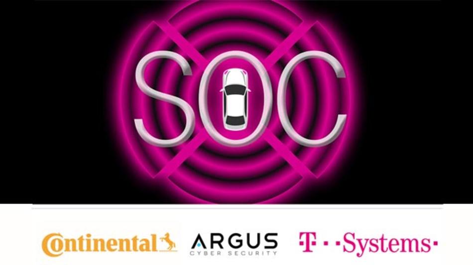 Umfassende und robuste Lösung für Cyber-Sicherheit im Automobilsektor von Argus und T-Systems