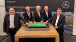 Mercedes-Benz legt Grundstein für neue Batteriefabrik