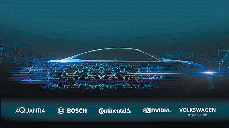 Netzwerktechnologien die automatisiertes Fahren unterstützten.