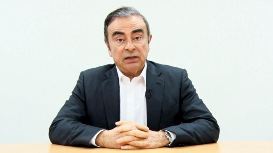 Der in Japan inhaftierte ehemalige Nissan-Chef sieht sich nach eigener Aussage als Opfer einer Verschwörung.
